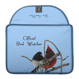 Official Bird 2 Watcher Mac Book Pro Sleeve
