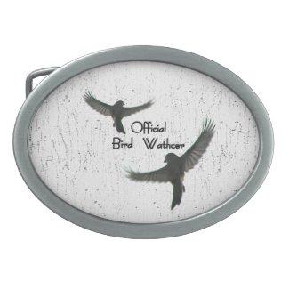 Official Bird Watcher Belt Buckle