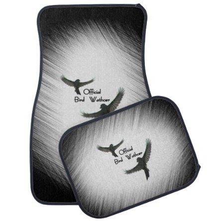Official Bird Watcher Car Floor Mat