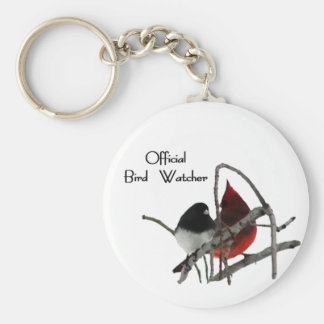 Official Bird Watcher Keychain
