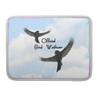 Official Bird Watcher Mac Book Pro Sleeve