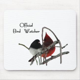 Official Bird Watcher Mouse Pad