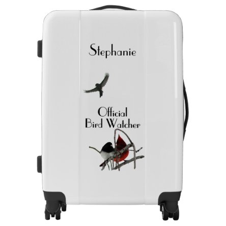 Official Bird Watcher Personal Luggage