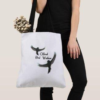 Official Bird Watcher Tote Bag