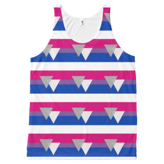 OFFICIAL BISEXUAL PRIDE DESIGN -.png All-Over-Print Tank Top