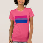OFFICIAL BISEXUAL PRIDE FLAG T SHIRTS