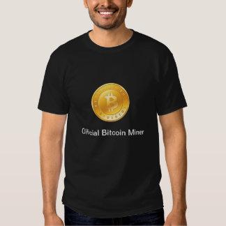 Official Bitcoin Miner T Shirt