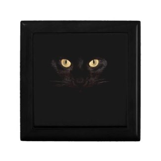 official black cat stash box gift boxes