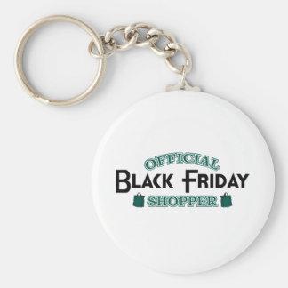 Official Black Friday Shopper (Green) Keychain