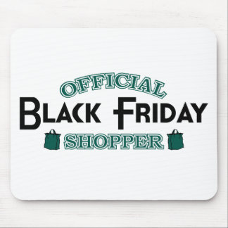 Official Black Friday Shopper (Green) Mouse Pad