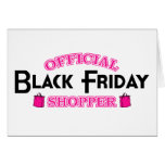 Official Black Friday Shopper (Pink) Card