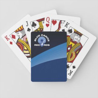 Official Blue Canoe Records Playing Cards