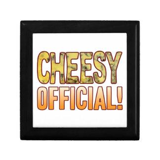 Official Blue Cheesy Keepsake Box