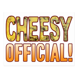 Official Blue Cheesy Postcard