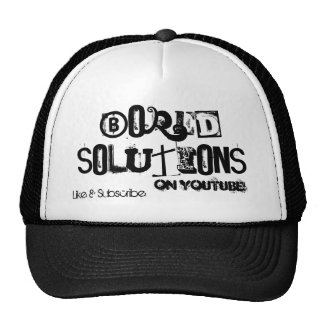 Official Bored Solutions Classic Hat