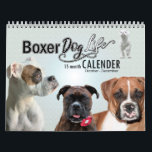 "Official Boxer Dog Life - 15 Month Dog Calendar<br><div class=""desc"">SELECT start date beginning with OCTOBER for holidays to match months. Featuring over 250 photos of Boxer dogs. This official Boxer Dog Life calendar contains pictures of Boxer dogs from the Boxer Dog life community on Facebook and Instagram. Each month contains fun pictures of Boxer dogs of all colors, shapes,...</div>"
