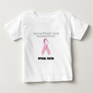 Official Breast Cancer Tester 1 Baby T-Shirt