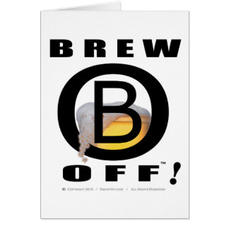 Official Brew-Off(tm) Customizable Invitation Card