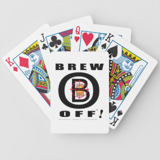 Official Brew-Off(tm) Target Logo Playing Cards