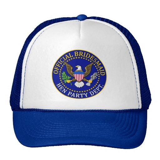 Official Bridesmaid Trucker Hat
