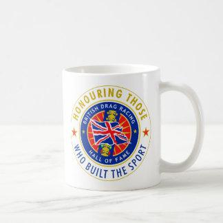 Official British Drag Racing Hall of Fame Mug