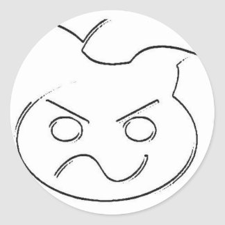 Official Brutal Merch Classic Round Sticker