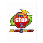 Official Bus-stop 2 Bus-stop Merchandise Post Cards