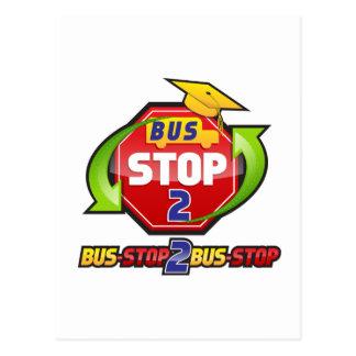 Official Bus-stop 2 Bus-stop Merchandise Postcard