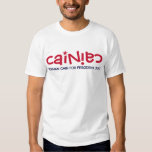 "Official ""Cainiac"" T-Shirt - Cain 2012"