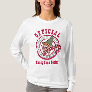 Official Candy Cane Tester Shirt