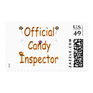 Official Candy Inspector Postage