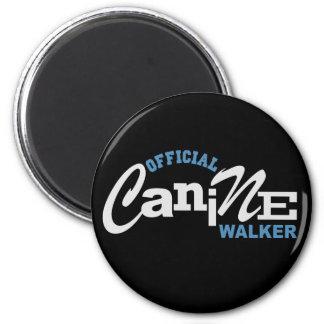 Official Canine DOG Walker 2 Inch Round Magnet