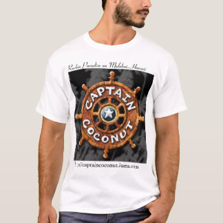 Official Capt Coconut T shirt FRONT ART ONLY