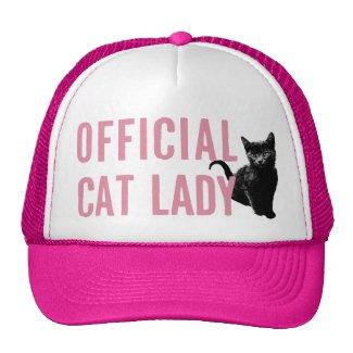 Official Cat Lady Hat