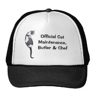 Official Cat Maintenance Mesh Hat