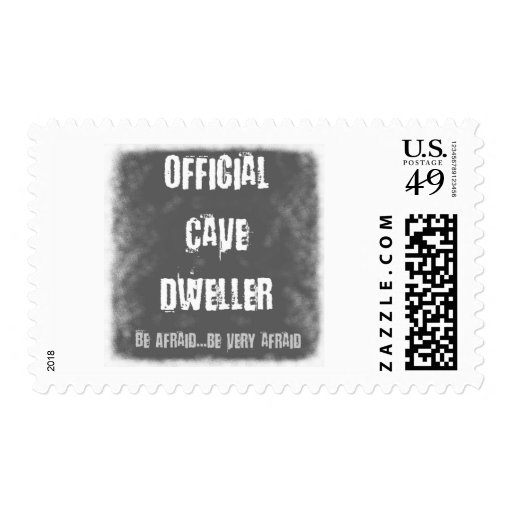 Official Cave Dwellers Postage Stamp
