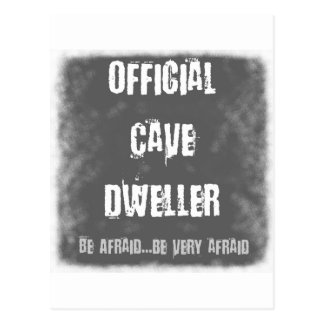 Official Cave Dwellers Postcard