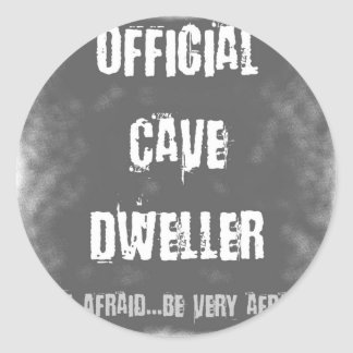 Official Cave Dwellers Sticker