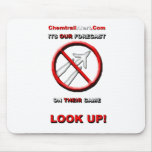 Official Chemtrail-Alert.Com Mouse Pad
