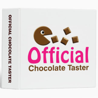Official Chocolate Taster (2.0) 3 Ring Binder