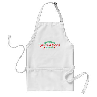 Official Christmas Cookie Maker Aprons