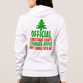 Official Christmas Lights Stringer Upper Hoodie