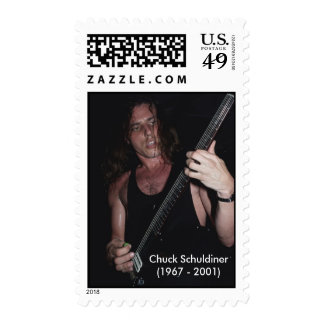 Official Chuck Schuldiner US Postage Stamps
