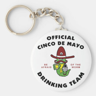 Official Cinco de Mayo Drinking Team Keychains