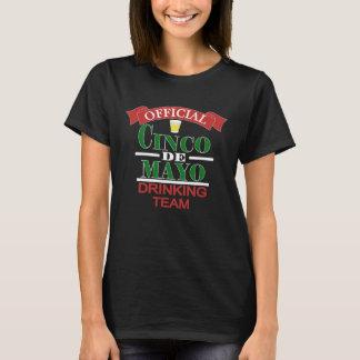 Official Cinco De Mayo Drinking Team Ladies Shirt