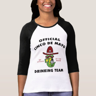 Official Cinco de Mayo Drinking Team Ladies Tshirts