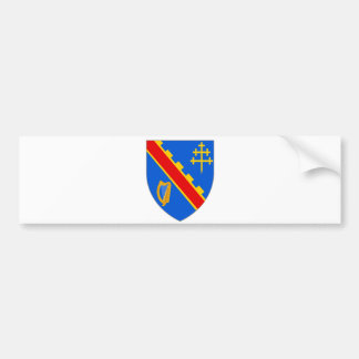 Official Coat Arms Armagh Heraldry Symbol Ireland Bumper Sticker