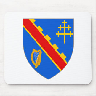 Official Coat Arms Armagh Heraldry Symbol Ireland Mouse Pad