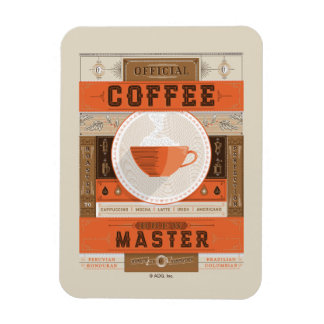 Official Coffee Brew Master Magnet