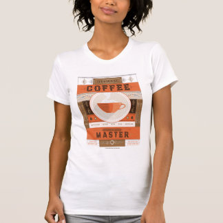 Official Coffee Brew Master T-Shirt